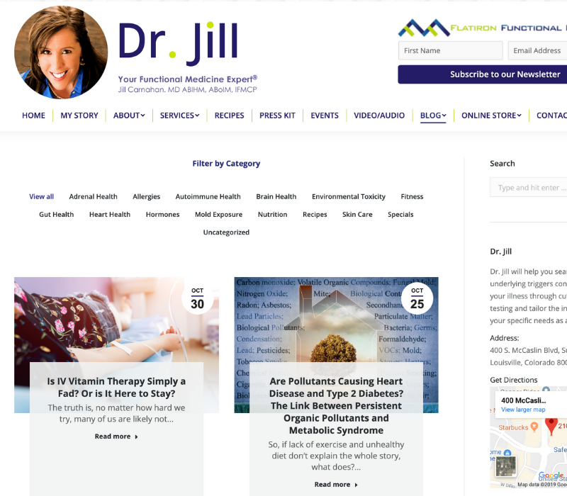 Dr. Jill Carnahan Strategy